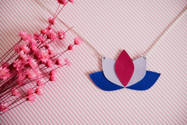 Rendu final DIY collier