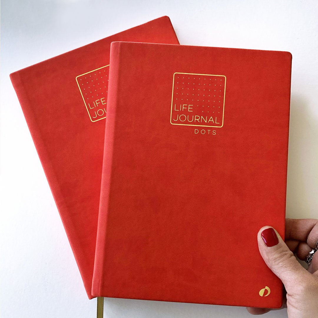 Carnet Life Journal corail