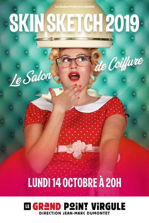 """Spetacle """"Le salon de coiffure"""" Octobre 2019 au Grand point virgule"""
