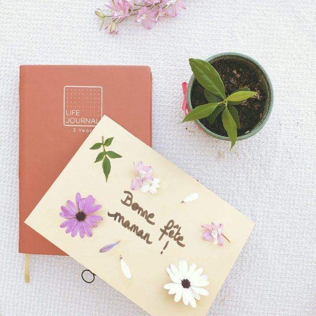 Article Quo Vadis DIY fête des mères pères porte-clefs mural carte florale recette gateau layer cake