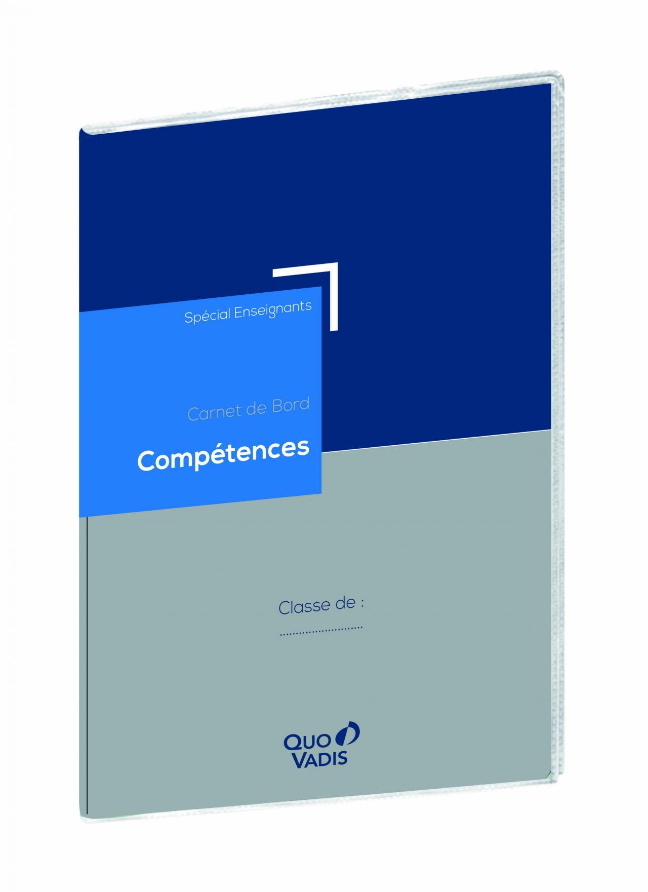 Carnet de bord Compétences - agenda et carnet de bord pour les enseignants et professeurs