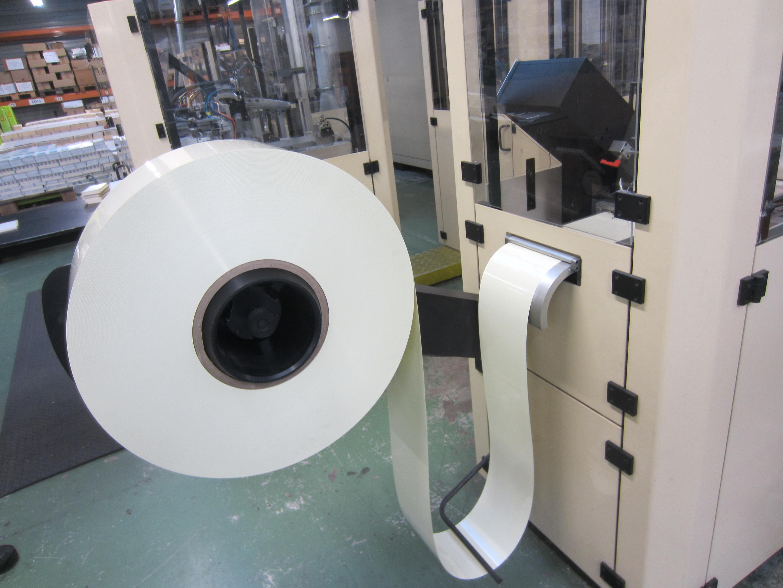 Impression dans l'usine Quo Vadis à Carquefou