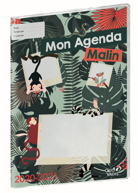 Quo Vadis Mon Agenda Malin 2020-2021