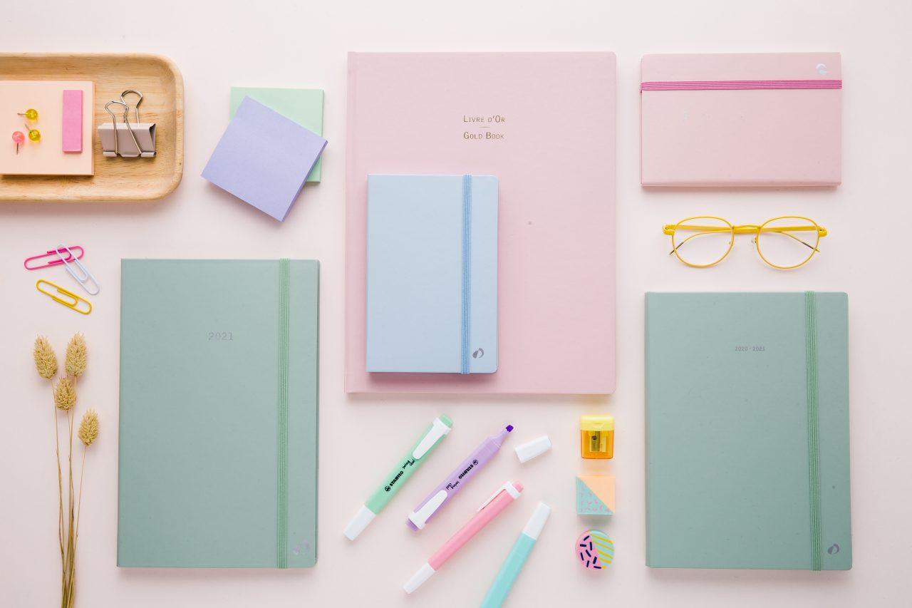Agenda et notes Quo Vadis - Pastel