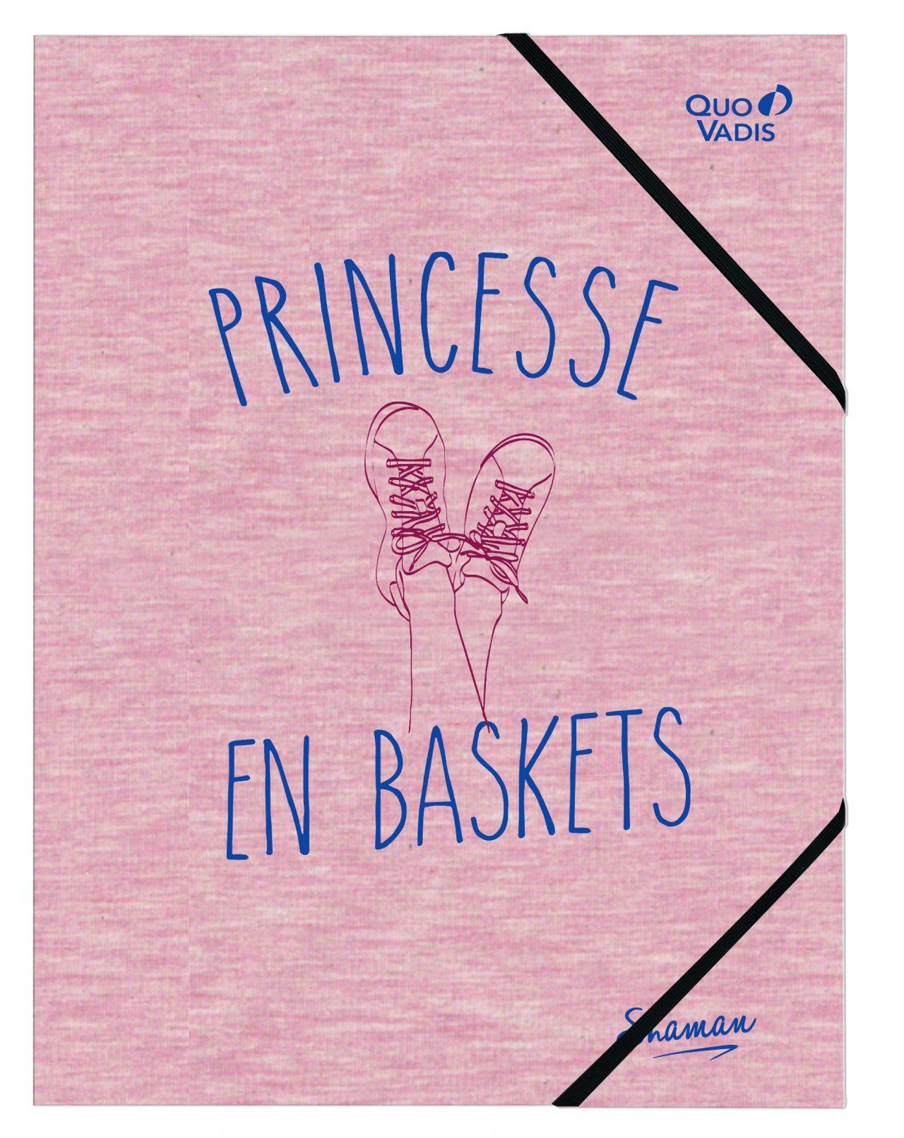 Pochette avec élastique Princesse en baskets Shaman Quo Vadis