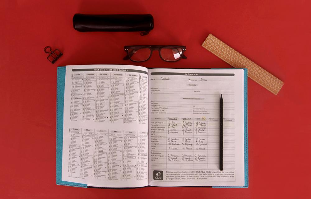 Article Quo Vadis produits enseignants Agenda Le Professeur