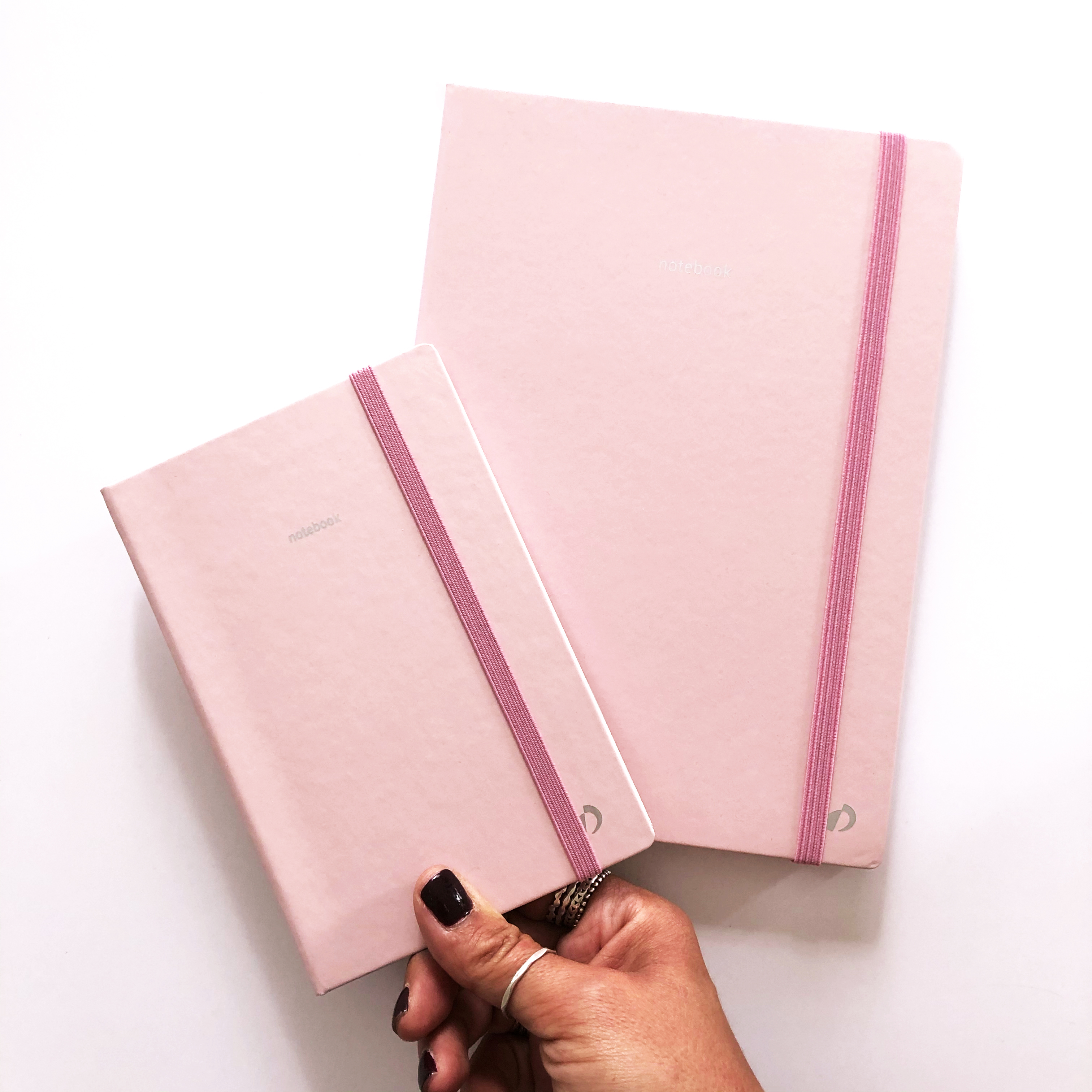 Article C Comme Line - Blog Quo Vadis - carnet Pastel rose