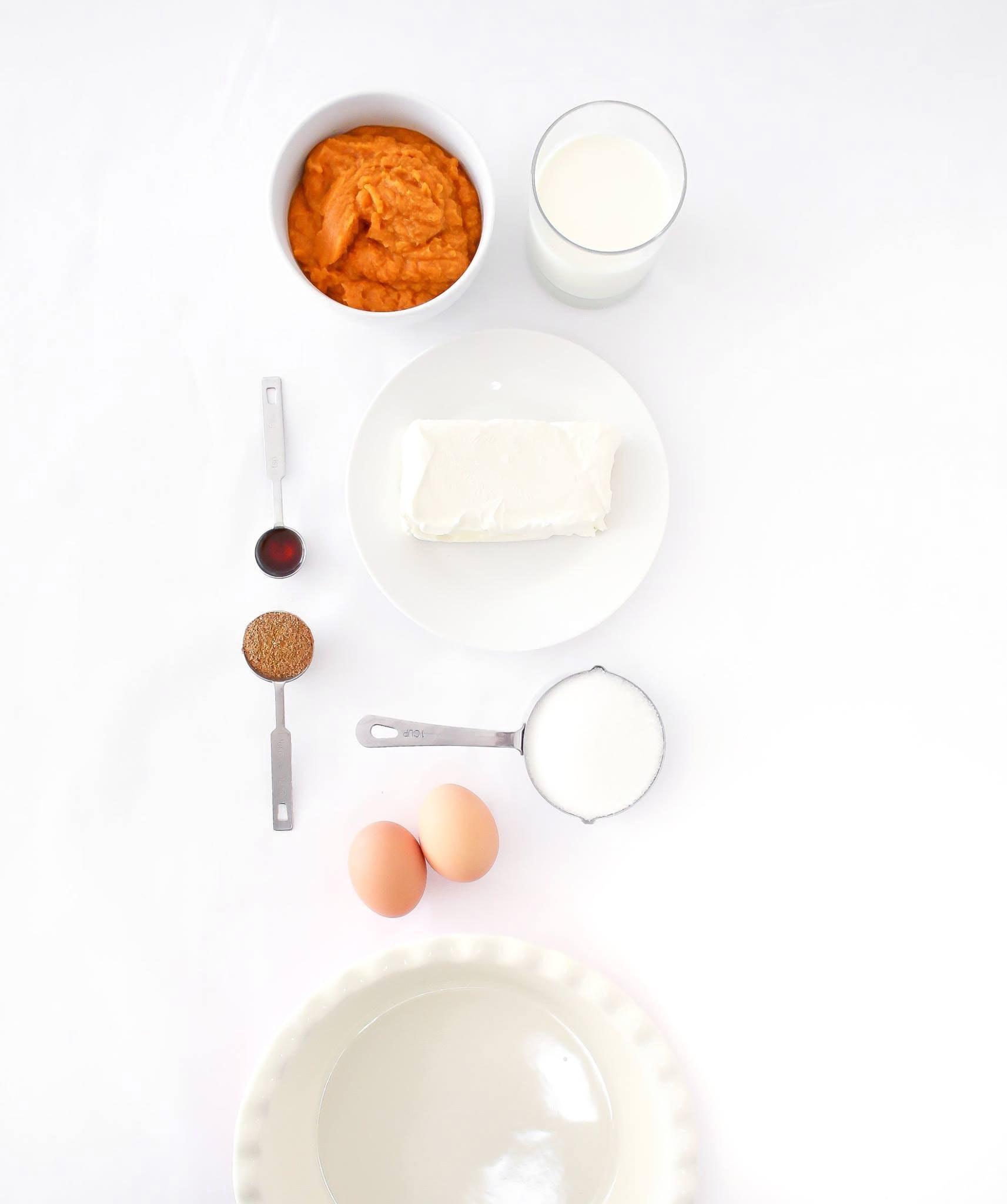 Ingrédients recette Pumpkin Pire tarte au potiron Quo Vadis photo Heather Ford