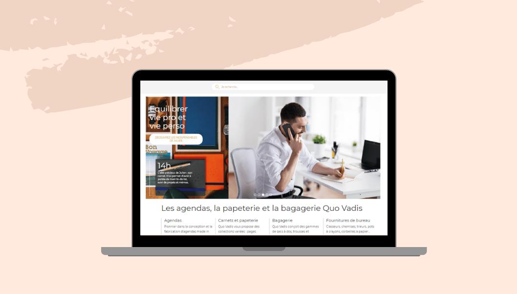 Nouvelle boutique en ligne Quo Vadis
